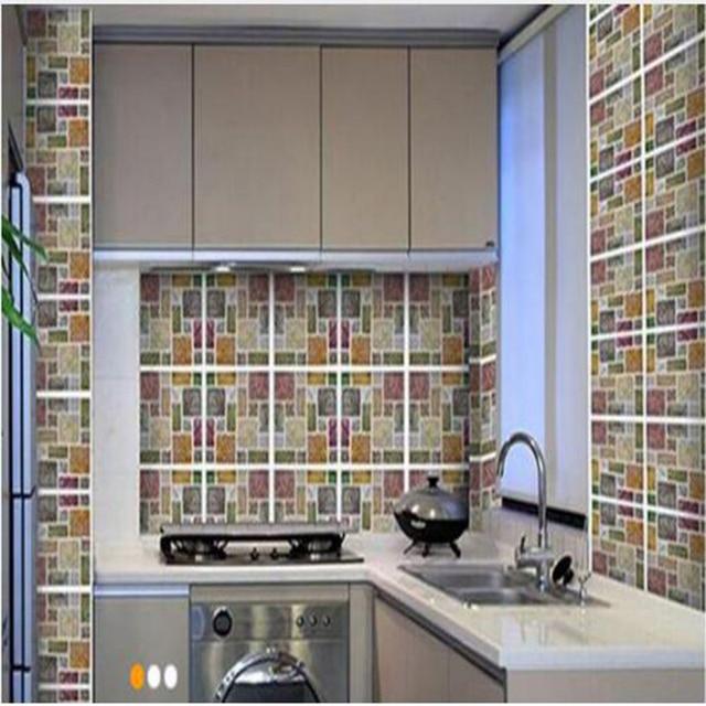 Vinyl Wand fliesen 2,0 neue hohe qualität selbstklebende 3d mosaik ...