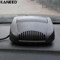 KANEED 12 V Auto Heater Fan Voorruit Voorruitverluchting Universele Auto Voertuig Elektrische Koude Warming Fan Verwarmd op Dashboard