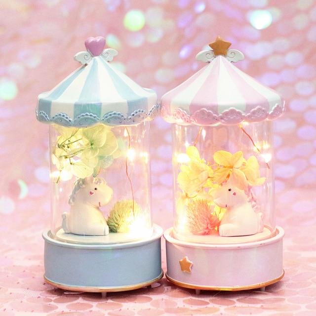 Flower Unicorn Night Light