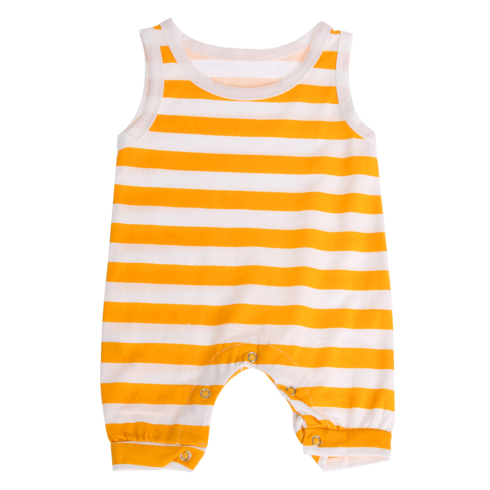 Infant Baby Kids Clothes Yellow Striped Newborn Toddler Girls Boys Romper Jumpsuit Clothes Outfits Baby Girl Clothing Jumpsuits newborn infant baby boy girl clothing cute hooded clothes romper long sleeve striped jumpsuit baby boys outfit