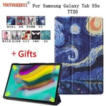 цена на Smart cover case for samsung galaxy tab S5e Tablet Sleep Awake funda cover for galaxy tab S5e 10.5 SM-T720 SM-T725+gifts