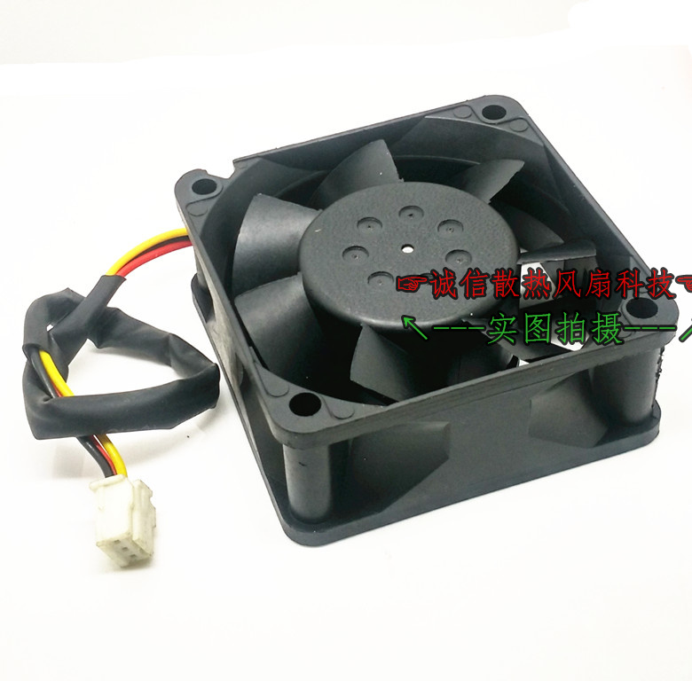 Emacro For Matsushita TSF612B2401 Server Square Fan DC24V 90mA 60x60x25mm 3-wire emacro for psc p1124020mb1a server square fan dc 12v 100ma 1 2w 40x40x20mm 3 wire