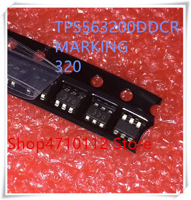 NEW 10PCS LOT TPS563200DDCR TPS563200 TPS563200DDCT MARKING 320 SOT23 6 IC