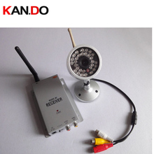 30 IR LED,night vision,WIRELESS Security CCTV Camera,1.2G receiver,1.2G wireless kits,wireless camera,Free Shipping
