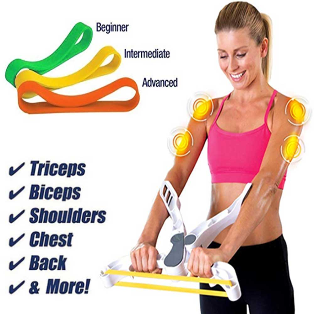 Wonder Arms Exercise Band Arm Strength Brawn Training Device Upper Body Arm Biceps Shoulder Chest Back Workout Machine