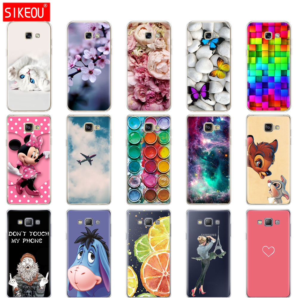 Silicone <font><b>Case</b></font> For Samsung Galaxy A3 A5 A7 2015 2016 2017 <font><b>Case</b></font> Cover A500 A510 A520 A300 A310 A320 <font><b>A700</b></font> A710 A720 Coqa image