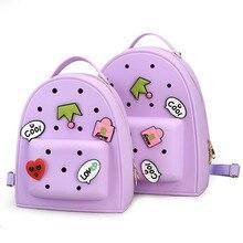 2017 sweet baby girls bolsas escuela kindergarten niños mochilas de dibujos animados de color caramelo bolsas mochila escolar infantil