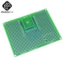 Nouveau Prototype de carte PCB 7x9CM, pour ESP8266 ESP32, Double face