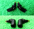 Frete grátis laog-seires masculino earphone pinos diy personalizado para sony mdr-ex1000 ex600 ex800 mdr-7550 1 par