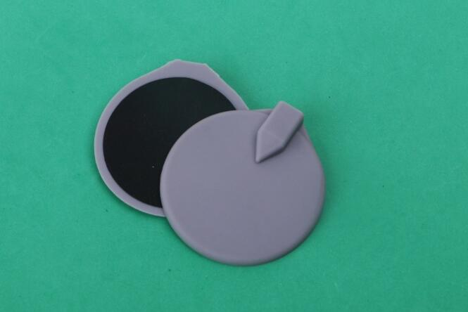 by dhl 85MM round physiotherapy muscle rubber electrodes pads for ems weight loss machine