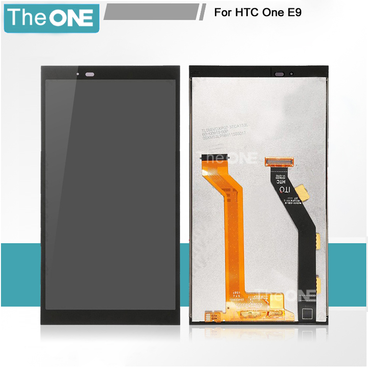 ФОТО 100% Tested Good LCD for HTC One E9 LCD Display with Touch Screen Digitizer Assembly Replacement