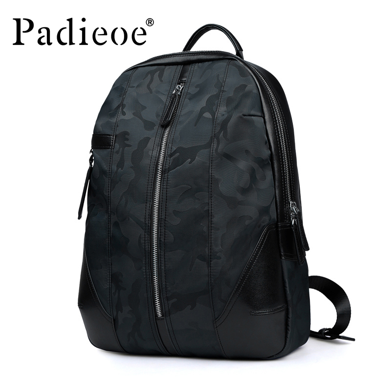 Padieoe High Quality Korean Style Canvas School Backpack Men Fashion School Bags For Teenage Casual Travel Men's Backpacks em15 2 2m 3m 4m 5m controller float switch liquid switches liquid fluid water level float switch controller contactor sensor