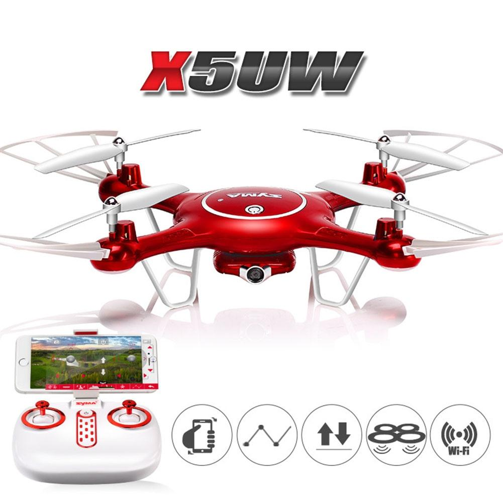 LeadingStar SYMA X5UW Double Battery RC Quadcopter HD Aerial Photography Drone Aircraft Toys jjrc h22 mini 3d rc quadcopter drone double side reverse direction aircraft
