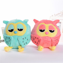 one piece New 20cmcute Night owl plush toys sleeping eye lovely owl toy Girl toy baby birthday gift large