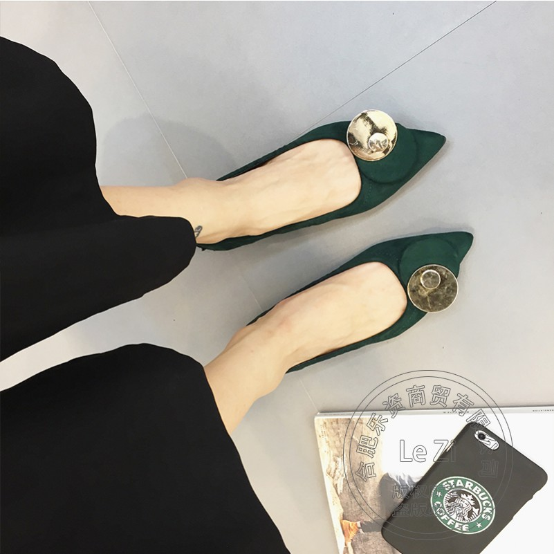 ФОТО Superstar Charm Solid Color Egg Rolls Shoes Matte Designer Brand Woman Leather Shoes Fold Up Rollable Metal Cap Toe Dazzling