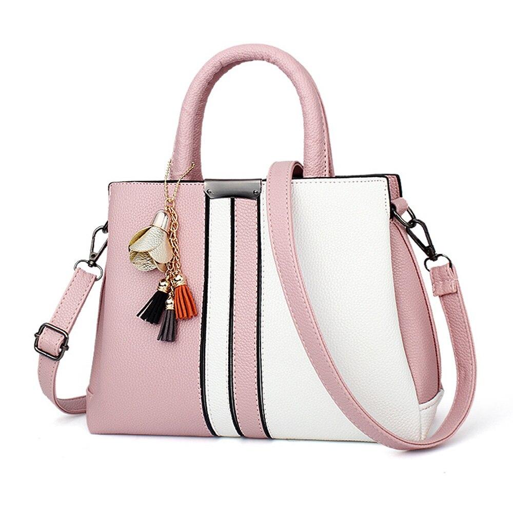 fcbffcbeced4 Ruiyee Мода женские сумки панелями Сумка Женская Топ-ручка сумки модные  женские CrossBody косые кошелек