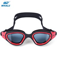 Whale Anti Fog UV Protection Swimming Eyewear Goggles Adjustable Cool Fashion Glasses For Water Sports Swimming