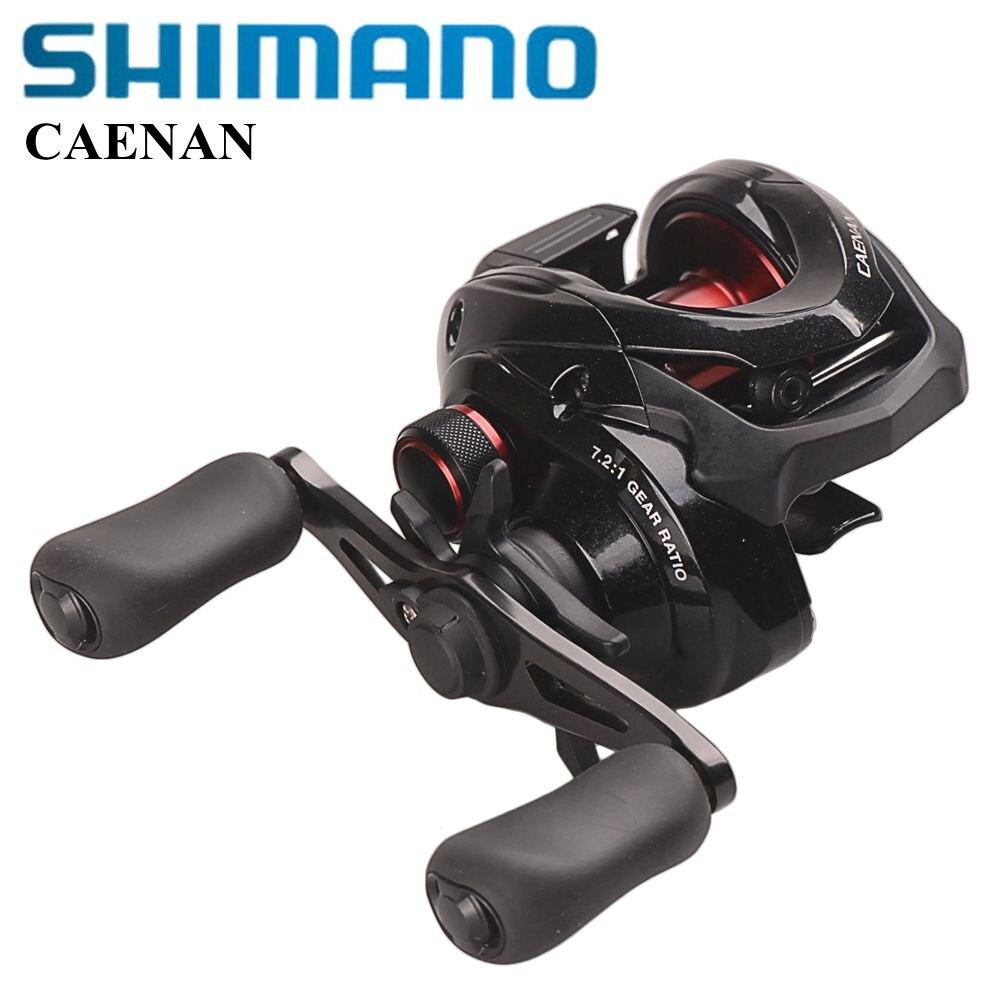 100% Shimano CAENAN 150 151 Baitcasting Reel Fishing 6.3: 1 7.2: 1 HEG S3D Spool Max Trascina 5 KG SVS Sistema di Pesca In Mare ruota