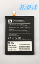 New 4000mAh BQ-5037 Replacement Battery Batterie For BQ 5037 Strike Power 4G Mobile Phone Batteries смартфон bq mobile strike power 4g 8 gb серый