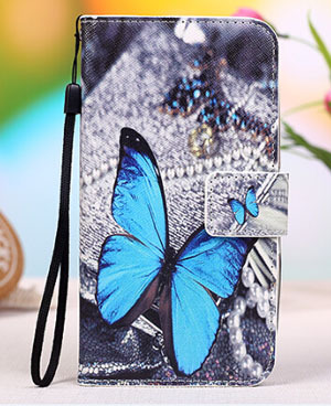 the latest ebc5b c6c1f US $4.79 40% OFF|Cartoon Phone Cover PU Leather Stand Wallet Flip Cover For  Phicomm Energy 653 Mobile Phone Case on Aliexpress.com | Alibaba Group