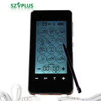 2018 New 12 therapy Modes 2 channel Electronic Pulse Massager Electrical Stimulator Electrotherapy Touch Screen TENS EMS PMS