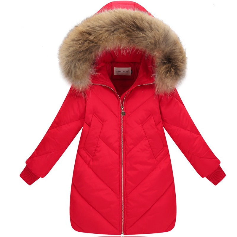 Girls Winter Coat Children Jackets Duck Down Parkas Kids Winter Outerwear Thicken Warm Clothes Baby Girls Clothing girl coat winter duck down and jackets kids outwear warm jacket girls clothes parkas children baby girls clothing with hooded