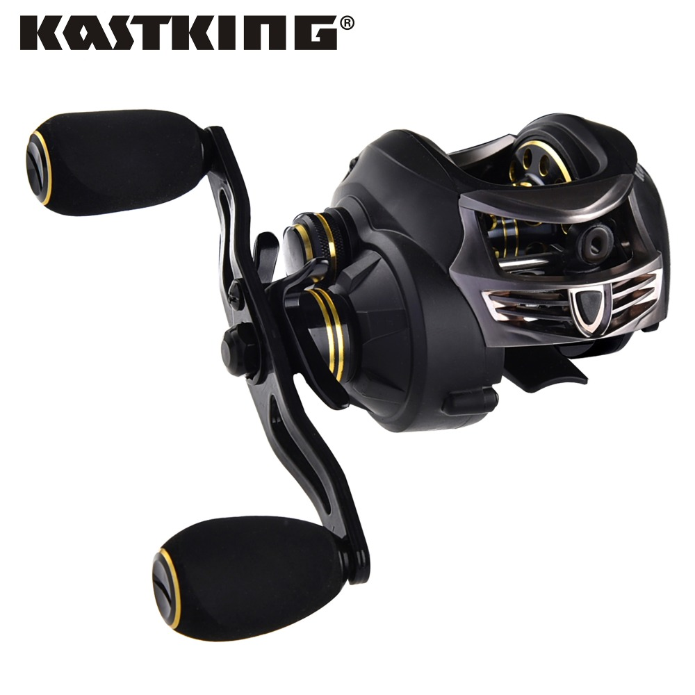 KastKing Stealth baitcasting reel 7.5KG Max Drag carp fishing gear Right Hand bait casting fishing reel carretilha para pesca right hand baitcasting reel 5 1 1 9 1bb fishing boat reel molinete pesca carp fishing gear bait casting fishing reel