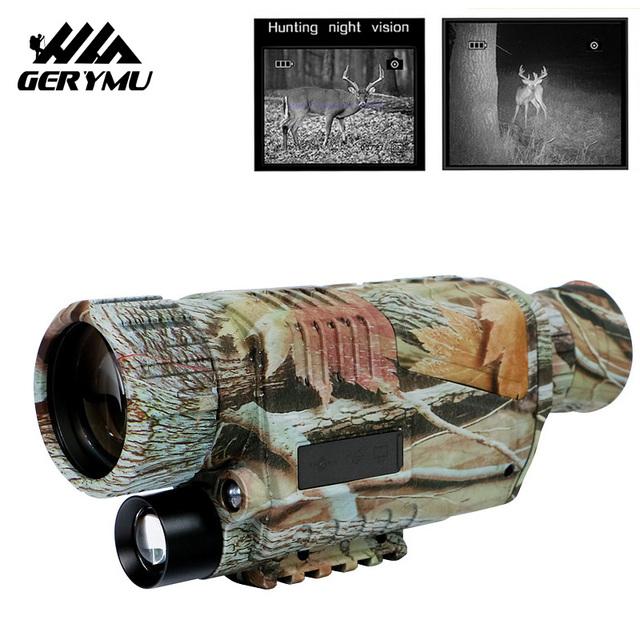 5x40 Hunting 200m TFT LCD Night VisionTelescope With Digital Video Camera Infrared Function For Tactical Optics Monocular Device