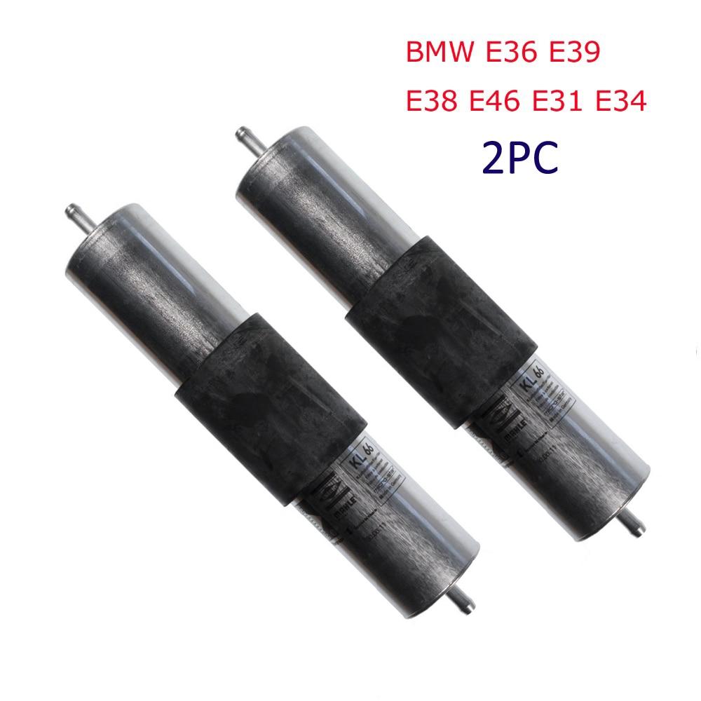 hight resolution of car fuel filter for auto bmw e36 e39 e46 e31 e38 e34 new original oem no 13321740985 13321702632 13321702633 13321740986 2pc