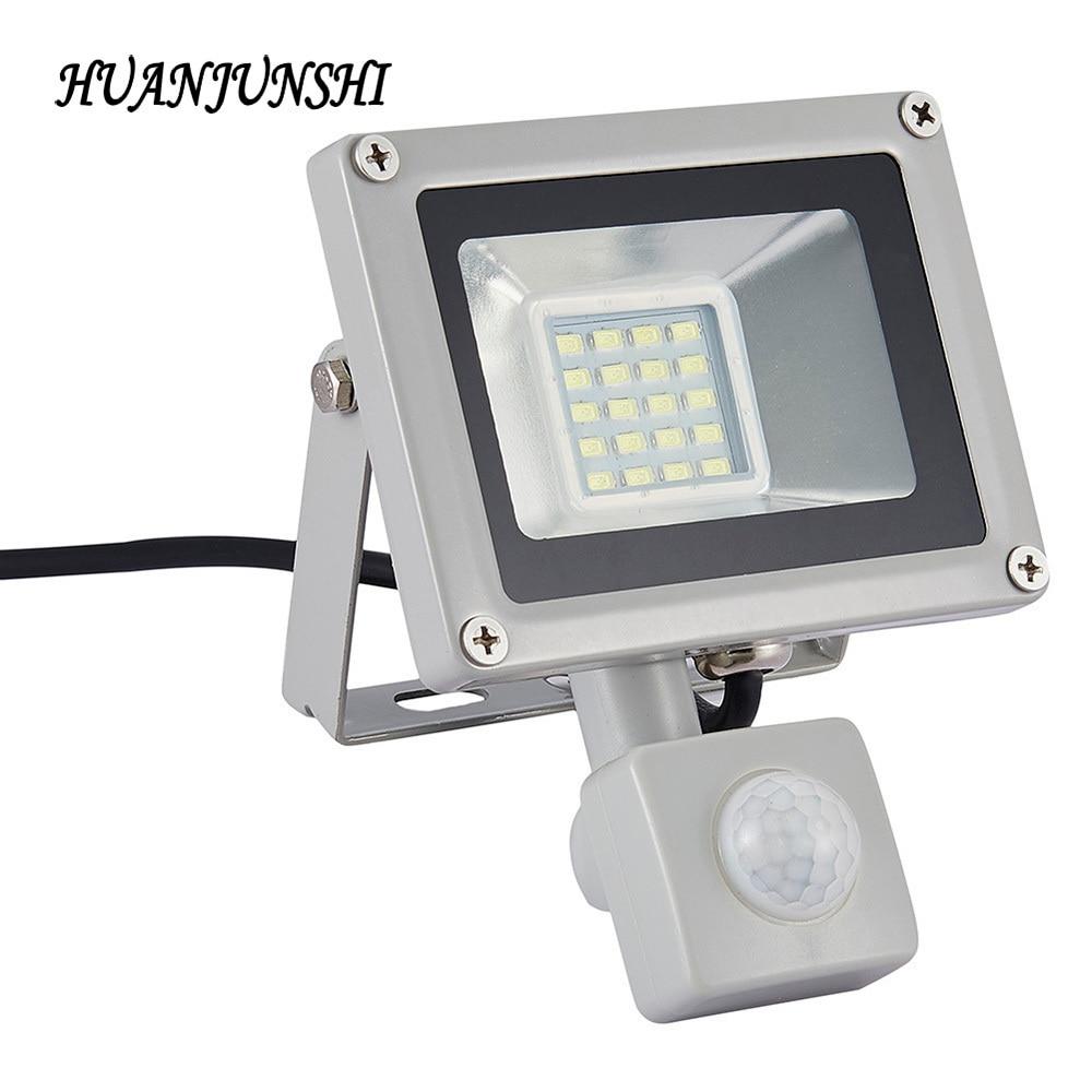 Outdoor Lighting LED Flood Light PIR Motion Sensor Led AC 220V-240V 20W Reflector Led Spotlight Flood Lamps IP65 Floodlight