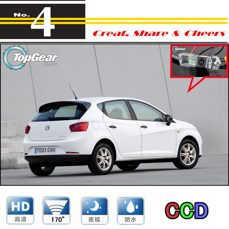 Car Camera For SEAT Ibiza 6L 6J SC MK3 MK4 2002~2016 High Quality Rear View Back Up Camera For PAL To Tuning | CCD Connector|camera rail|camera ps3camera dock series 3 - AliExpress
