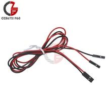 2 шт 2Pin 70 см набор кабелей Женский-Женский перемычка для Arduino принтера Reprap
