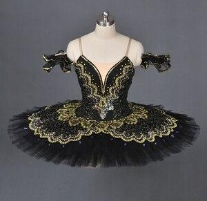 Image 2 - La Esmeralda Women Pancake Ballerina Platter Stage Costume Tutu Skirts For Adult Professional Ballet Tutus Point Dance Costume