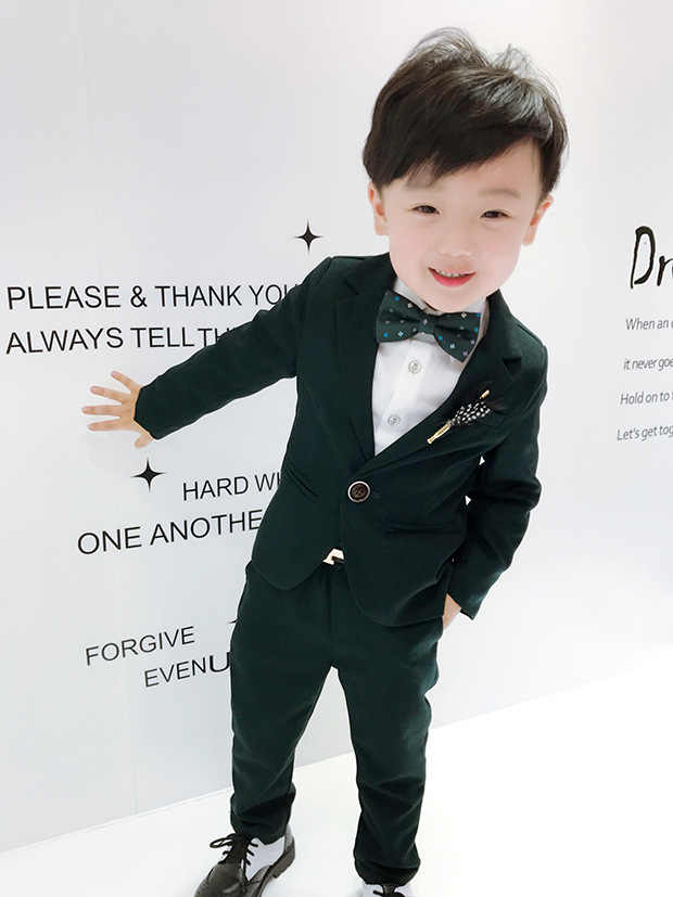 911a5e09ddac Formal summer Boys Blazer 4 pcs/set Wedding Suits for Boy Formal Suit Boys  wedding