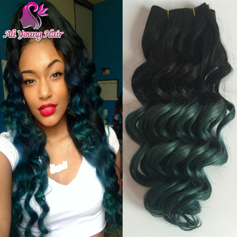 7a loose deep wave brazilian ombre hair extensions t1bdark green 7a loose deep wave brazilian ombre hair extensions t1bdark green brazilian human hair weave bundles one piece human hair weaves in hair weaves from hair pmusecretfo Gallery