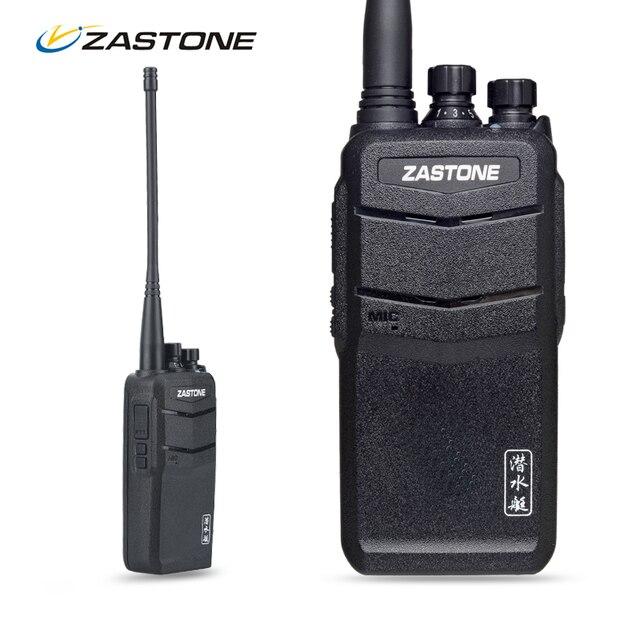 Zastone ZT-V1000 Walkie Talkie Водонепроницаемый УКВ 136-174 МГц Высокой Мощности 8 Вт 2000 мАч Непромокаемые CB Любительское Радио два Пути Трансивер HF