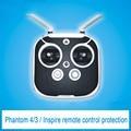 Controle remoto capa de proteção protetor de couro anti-slip para fantasma 4/3/inspire quadcopter multirotor uav zangão