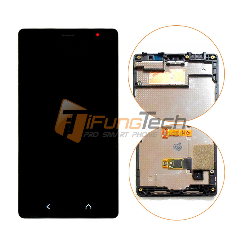 5PCS DHL 100% OEM LCD Screen Display with Touch Screen Digitizer Assembly With Frame For Nokia x2 1013 X+ X2DS Free Shipping 2013 new for iphone 5 lcd with touch screen digitizer assembly free shipping lowest price dhl