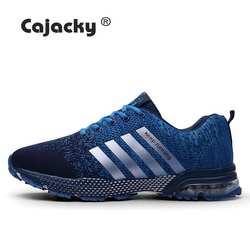 Cajacky кроссовки унисекс большие размеры 47 беговые кроссовки 2019 лето осень кроссовки мужские красовки легкая дышащая обувь