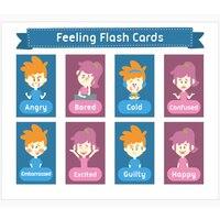 2 pçs inglês sentimentos emoções expressar palavra flash cartões de parede decoração sala de aula educação precoce inclinada crianças montessori presentes