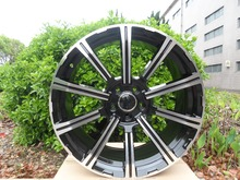 20×9 et 35  5×112 Black Machine Face  Alloy Wheel Rims W612 For Mercedes