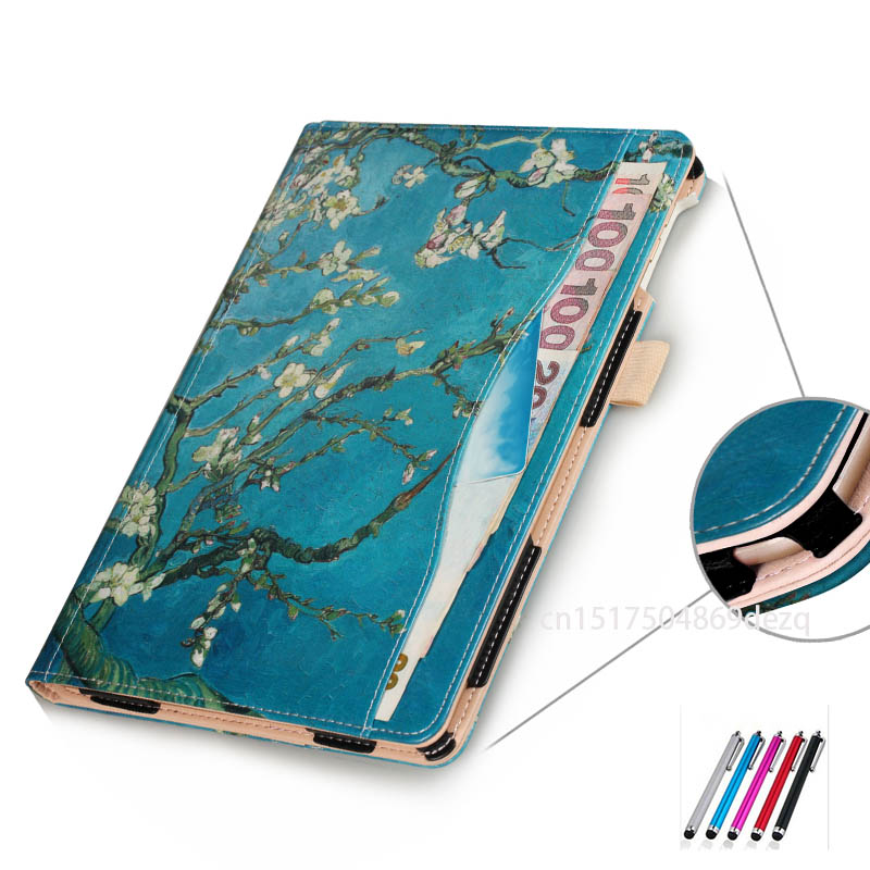 Smart Sleep Case for iPad 2017 9.7 & for iPad Air 2 ipad air 9.7 Tablet Universal PU Leather Stand Protective Case Cover Capa rygou for ipad air 1 air 2 case wake up sleep function smart cover tablet pu leather case for flip cover ipad air 2 tablet
