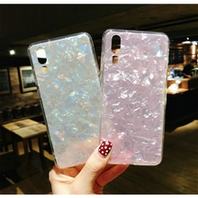Luxury Glitter Pink White case for huwai p20 lite p9 mini 3D silicone For huawei Lite cover Soft tpu