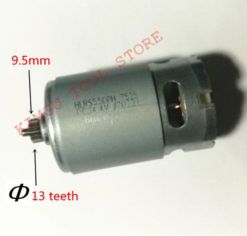 13 dientes 13 dientes Motor 14,4 V para reemplazar BOSCH GSR14.4-2-LI PSR 14,4 LI-2 PSR14.4LI-2 PSR1440LI-2 taladro del motor del Motor