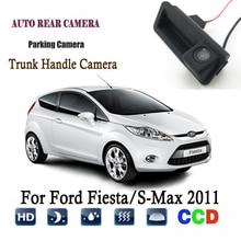 Auto Videocamera vista posteriore Per Ford Fiesta/S-Max 2011 Invece di Fabbrica Originale Trunk Maniglia Della Macchina Fotografica/telecamera di retromarcia