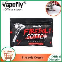 """20 шт./упак. Vapefly Firebolt сахарной ваты для электронная сигарета Перезаправляемые Атомайзеры емкостью обслуживаемых атомайзеров и дрипок, катушки органического хлопка Vape аксессуары vs облако"""""""