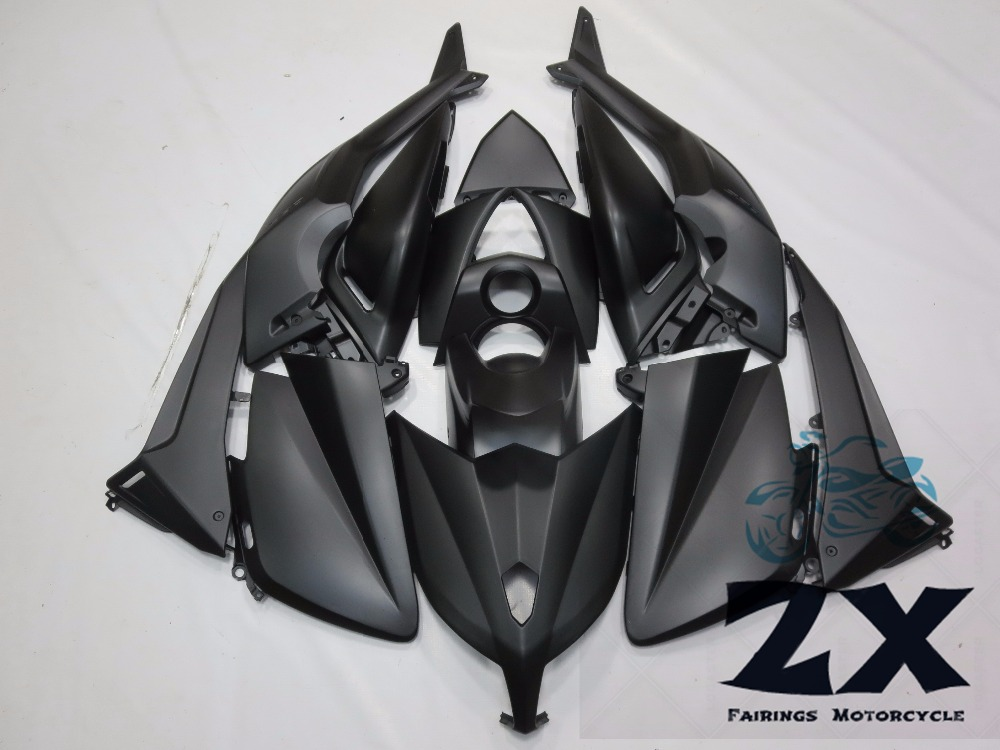 Complete Fairings For Yamaha TMAX 530 12 13 14T-Max ABS Plastic Kit Injection Motorcycle Fairing Flat Black Kit hot sales for yamaha tmax530 parts 2012 2014 tmax 530 12 14 tmax 530 motorcycle body aftermarket kit fairing injection molding