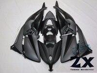 Hoàn chỉnh Bộ Phận Tạo Đối Với Yamaha TMAX 530 12 13 14T-Max ABS Plastic Kit Tiêm Xe Máy Fairing Bằng Phẳng Màu Đen Kit