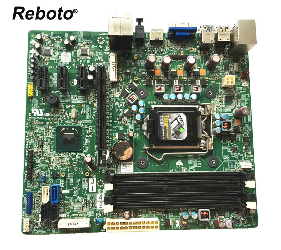 Reboto For DELL XPS 8500 series Desktop Motherboard DH77M01 CN 0YJPT1 0YJPT1 YJPT1 LGA1155 H77 DDR3