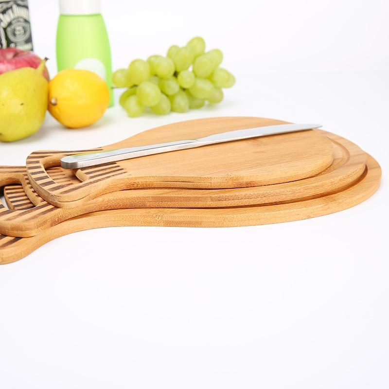 Natural Bamboo Cutting Board Chopping Block 3